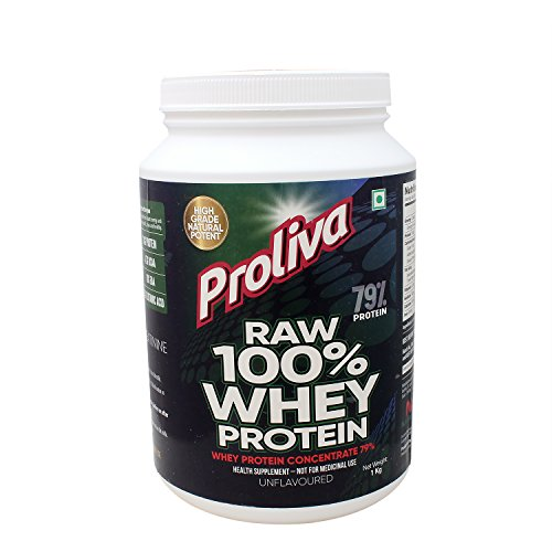 Proliva Unflavoured Raw Whey Protein 79% - 1 Kg