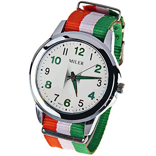 cursonline-orologio-unisex-bracciale-tessuto-con-colori-della-bandiera-dellitalia-movimento-al-quarz