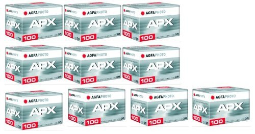 Lupus AgfaPhoto APX 100 Prof 135-36 B/W Film (10 er Pack)