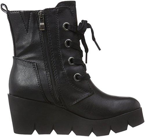 Marco Tozzi 25221 Damen Combat Boots Schwarz (Black Antic 002)