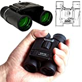 UrChoiceLtd® Binoculars, LexonTech 20X22 Mini Pocket-Size HD Lens Low Light Night Vision Telescope Binocular Trip Concert Match For Watching Traveling,SightSeeing Climbing