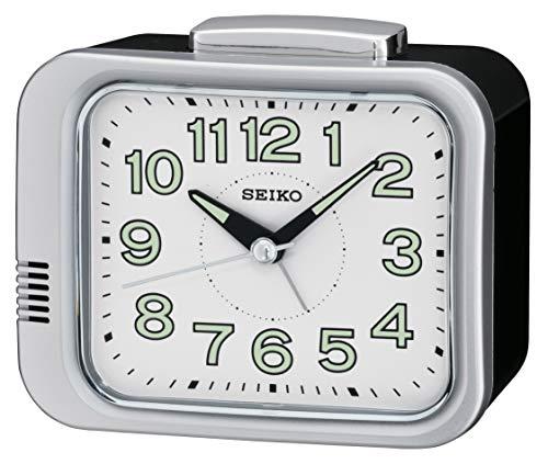 Seiko Unisex Reloj Despertador Esfera Analógica Pantalla