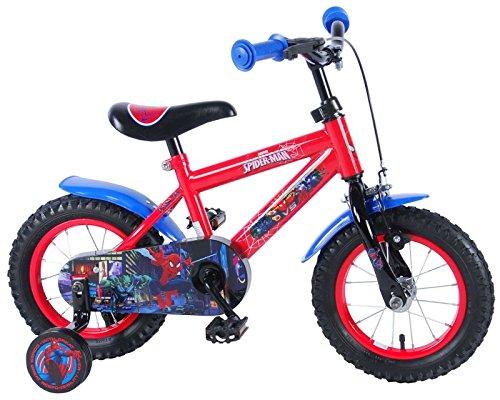 Marvel Spiderman Qualitäts Kinderfahrrad 12 Zoll Kinder Fahrrad Jungen 41254-CH