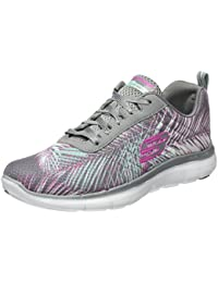 Skechers Damen Flex Appeal 2.0-Tropical Bree Outdoor Fitnessschuhe