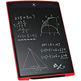 12 pulgadas de escritura LCD Tablet, Yuelu Kids y Business eWriter electrónica duradera, conveniente para llevar (rojo)