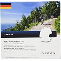 Garmin Topo Deutschland V8 Topografische Vektorkarte, Mehrfarbig, One Size