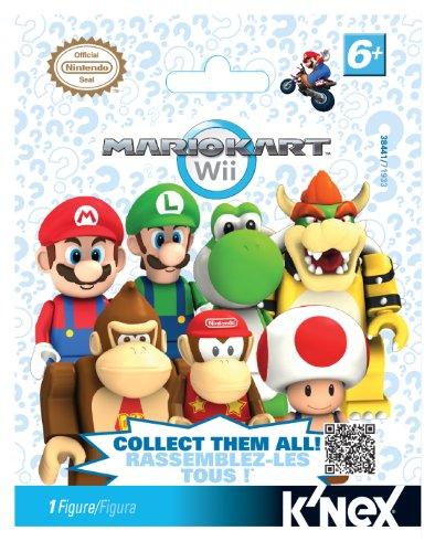 K'NEX Nintendo Mario Kart Wii Mystery Bags by K'Nex (Luigi Kart Knex)