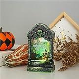 jingrnaoKreative Nachtlichtleiste des Halloween-Dekorationsleuchtenden verziert geheime Raumdekoration-Tischplattendekoration