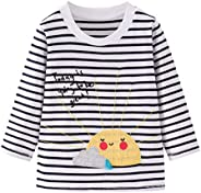Girls New Striped Sweater Long Sleeve Autumn Winter Sweatshirt Baby Girls Clothes