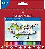 Faber-Castell A.W. 155170 - Stempel-Filzstifte, 10 Stück im Etui