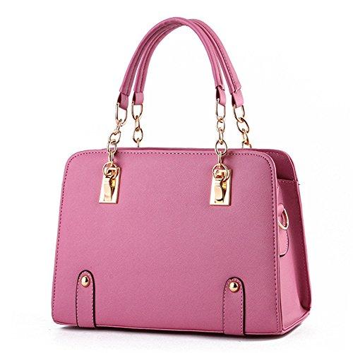 womens-fashion-shoulder-bag-top-handle-bag-lady-casual-crossbody-messenger-bag-eraser-pink