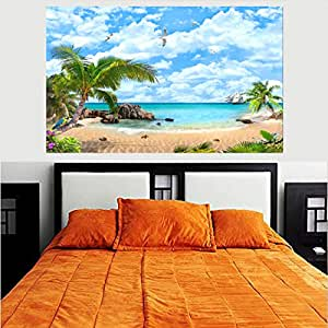 Buy Smartbuyer Mauritius Versus The Seychelles Hd Wallpaper No Framed 2ft X 4ft Online At Low Prices In India Amazon In