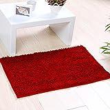 WJH Weichen, Flauschigen Teppich, Door mat Stock, Anti-rutsch Modernes Design Dick Wasser-Absorption Waschbar Teppich für Schlafzimmer Wohnzimmer-P 40x60cm(16x24inch)