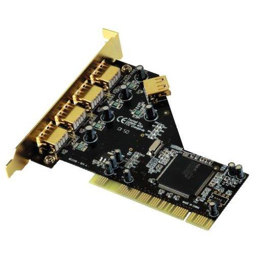 PC@Innovation USB 2.0-Karte 5fach, PCI