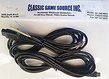 Classic Game Source Inc. Deux 8FT 9 broches fils du cordon de remplacement du câble pour réparer Atari 7800 Controller Joystick
