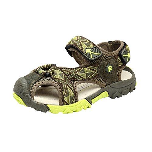 Gloria JR Sommer Athletic Strap Geschlossen-Toe Sandale Für Kleinkind Little Kid Big Kid Grün(Green)