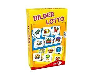 Noris Spiele 606094219 - Bilder Lotto, Reise- und Mitbringspiel