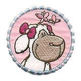 NICI - Schaf - Kopf - Aufnäher Patch Aufbügler Bügelbild