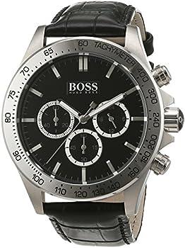 Hugo Boss Ikon Wristwatch men's Leather Watch