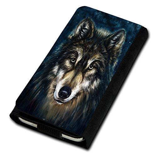 Book Style Flip Handy Tasche Case Schutz Hülle Foto Schale Motiv Etui für Phicomm Energy L - Flip U5 Design12