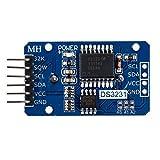 TOOGOO (R) Piccolo DS3231 AT24C32 I2C Modulo Orologio Module Precisione tempo reale per Arduino
