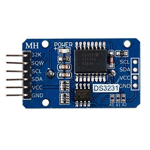 SODIAL(R) Minuscule DS3231 AT24C32 Module I2C precision Horloge en temps reel Module Pour Arduino