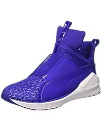 Puma Mesh Fierce Eng Sneaker, Royal Blue/Blanco, 4