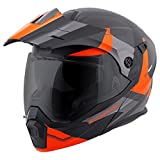ScorpionEXO - Casco de moto modular abatible de adulto unisex, para viajes de aventura