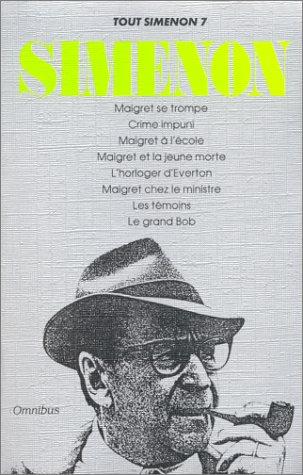 Tout Simenon, tome 7 (8 romans)