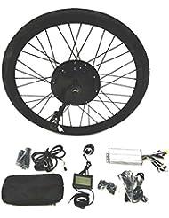 48V1500W Hub Motor Ebike Kit vélo électrique moteur Kit de conversion pour cyclisme + LCD+ Tire Theebikemotor