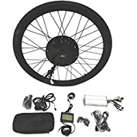 theebikemotor 48V1500W Hub Motor Electric Bike Conversion Kit + LCD+ Tire