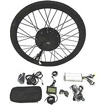 48V1500W Hub Motor Ebike Bicicleta ELÉCTRICA KIT DE CONVERSIÓN + LCD+ Tire Theebikemotor (Rear Wheel, 700C)