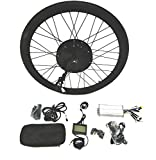 48V1500W Hub Motor lektro-Fahrrad Umbausatz Electric Bike Conversion Kit + LCD+ Tire Theebikemotor (Rear Wheel, 28