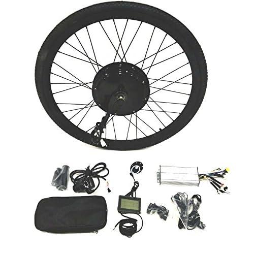 510JCbXN1xL. SS500  - theebikemotor 48V1500W Hub Motor Electric Bike Conversion Kit + LCD+ Tire