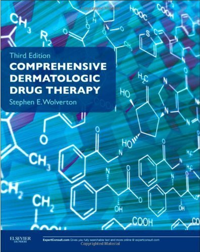 Comprehensive Dermatologic Drug Therapy: Expert Consult - Online and Print, 3e (Wolverton, Comprehensive Dermatologic Drug Therapy) 3rd by Wolverton, Stephen E, Wolverton MD, Stephen E. (2012) Paperback