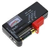KKmoon Testeur de Piles | Testeur de Batterie Universel, AA / AAA / C / D / 9V / 1.5V Piles Testeur Numérique, Affichage Digital Bouton Cell Battery Volt Testeur Checker
