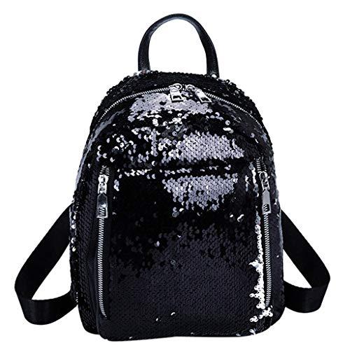 JERFER Zaino Donna Borsa A Tracolla Da Viaggio Borsa Da Viaggio A Tracolla Color School Bag