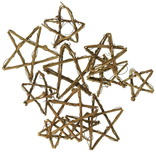 Grapevine miniatures-assorted Sterne 12/Pkg