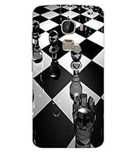 ColourCraft Chess Design Back Case Cover for LeEco Le 2 Pro