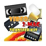 VHS della videocamera e video aufnahmekit. Per Mac OSX. Lavora con High Sierra (10.13), SIERRA (10.12), EL CAPITAN (10.11), Yosemite (10.10), Mavericks (10.9.5), Leone di montagna (10.8.5), Leone (10.7.5) e Snow Leopard (10.6) .8). include hardware di acquisizione USB, Cavi e software di acquisizione. Collega il tuo esistente Videoregistratore o videocamera con il tuo Apple Mac. Copiare, convertire, Trasferire VHS, S-VHS, C, VHS Hi8, DIGITAL8, VIDEO8, Mini DV e Beta Max. Per tutti gli iMac, MacBook Pro, Mini e modelli. include un video Tutorial e un link per il download digitale per Mac senza DVD di unità. Istruzioni in Inglese.