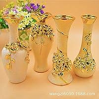 2132 Home artware ceramica swing è placcato in vasi di