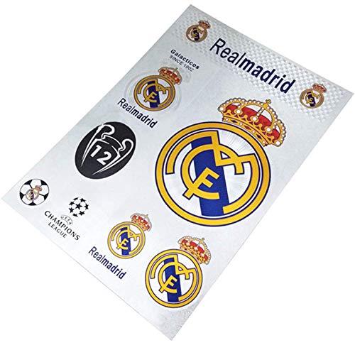 Real Madrid Cf Futbol Fußballaufkleber -