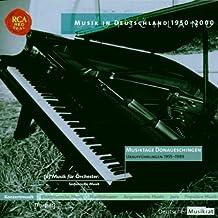 Sinfonische Musik 1 - Musiktage Donaueschingen
