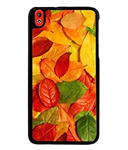 PrintVisa Designer Back Case Cover for HTC Desire 816 :: HTC Desire 816 Dual Sim :: HTC Desire 816G Dual Sim (Saturated Saturate Grounds Floral Leafage Natural Beautiful Vibrant)