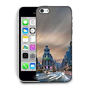 Snoogg Metropolis Printed Protective Phone Back Case Cover For Apple Iphone 6+ / 6 Plus