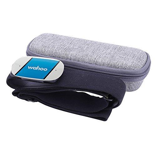 Hart Tasche Hülle für Wahoo TICKR Herzfrequenz-Sensoren-Set/Herzfrequenzsensor Brustgurt by Aenllosi Grau