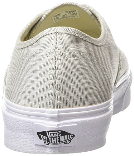 Vans Unisex-Erwachsene Authentic Slim Sneaker Grau (chambray/gray/true White)