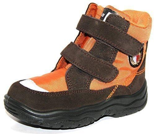 Jela - Jela chaussures pour enfants 61 124 garçons bottillons & Bottines Brown (brun foncé / orange 27)