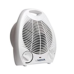 Nova NH 1201 2000-Watt Room Heater (White)