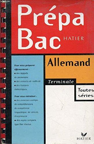 Prépabac allemand, terminale toutes séries par Jean-Pierre Demarche, Martine Dinard